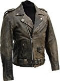 ROCKABILLY CHOPPER BIKER LEDERJACKE