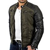 Red Bridge Herren Lederjacke